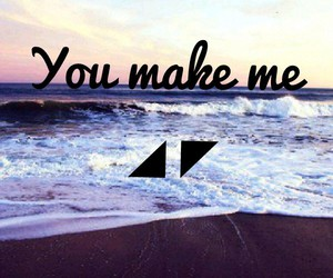 true, ♥, and you make me image