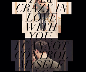 couple, crazy in love, and christian grey image