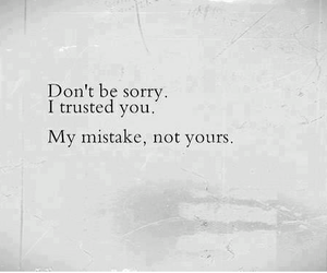 black, mistake, and quotes image
