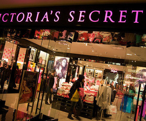 Victoria's Secret, store, and pink image