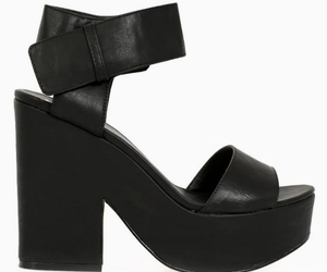 black, hot., and shoes image