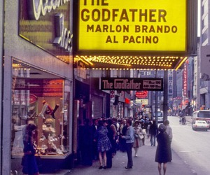 The Godfather, al pacino, and marlon brando image