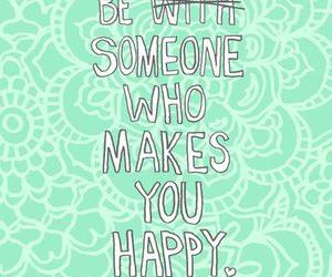 quote, happy, and green image