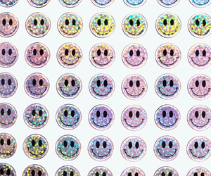 background, glitter, and smile image