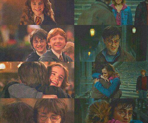 harry potter, hermione, and daniel radcliffe image