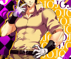 jojo's bizarre adventure, joseph joestar, and battle tendency image