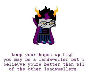 encouragement, positive, and homestuck image