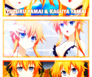 anime, date a live, and kaguya yamai image