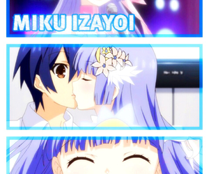 anime, date a live, and miku izayoi image