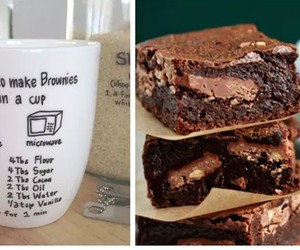 brownie, chocolate, and Easy image