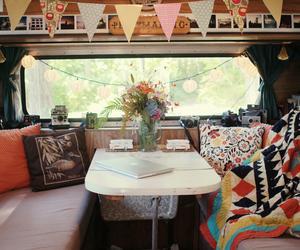 camper van, style, and decor image