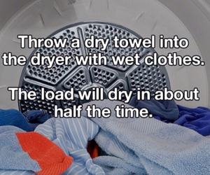 clothes, dry, and dryer image