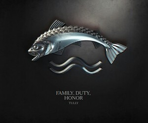 game of thrones, tully, and house tully image