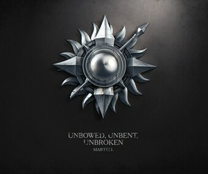 game of thrones, martell, and house martell image
