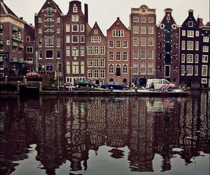 amsterdam, den haag, and cloudy image