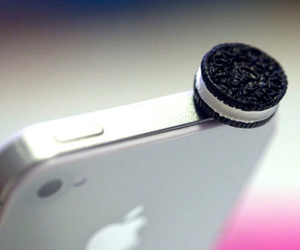 oreo, iphone, and apple image