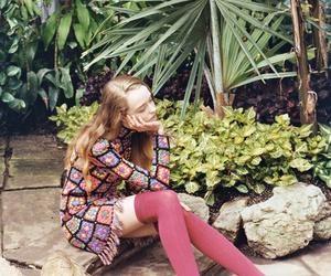 colors, fashion, and flowers image