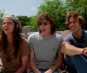 dazed and confused, high school, and stoners image