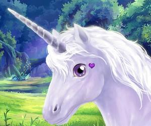 unicorn beautiful art image