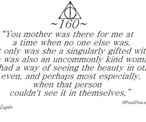 harry potter, remus lupin, and quote image