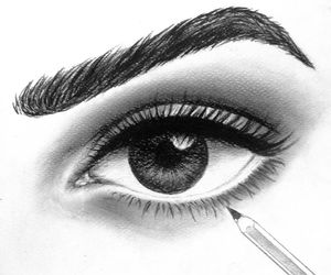 art, beautiful, and eye image