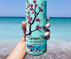 summer, arizona, and green tea image