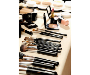 chanel, tumblr, and make up brushes image