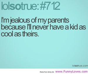 cool, jealous, and parents image