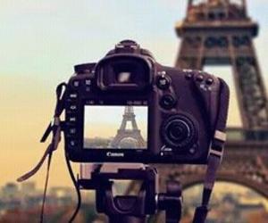 paris, camera, and photography image