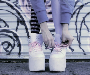 shoes, fashion, and grunge image