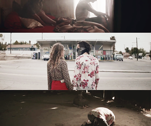 music video, love, and robbers image