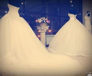 dress and mariage image