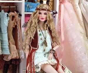 barbie, fashion, and girl image