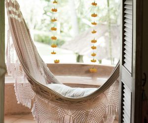 cozy, hammock, and home image