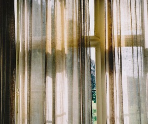 curtain, indie, and hipster image
