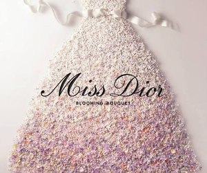 dior, miss dior, and dress image