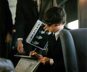 the beatles, john lennon, and beatles image