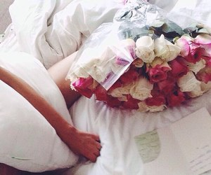 flowers, love, and morning image