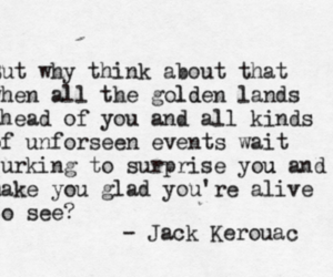Jack Kerouac and quotes image