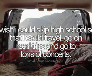 be free, concerts, and travel image