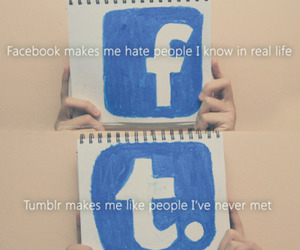 facebook, tumblr, and hate image
