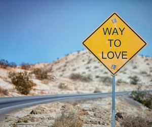 love, way, and road image
