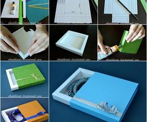diy, box, and tutorial image