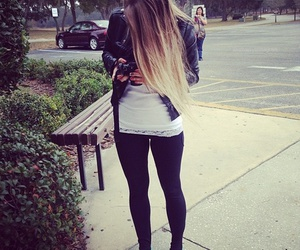 girl, hair, and vans image