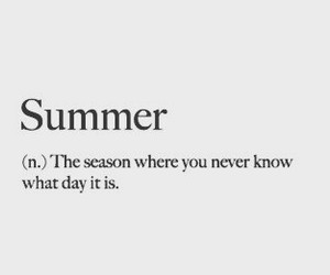 summer and season image