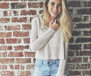 brandy melville, blonde, and clothes image