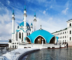 mosque, beautiful, and islam image