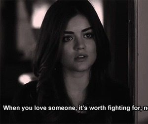 love, quotes, and pll image