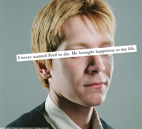 Remarkable, very Fred weasley harry potter apologise