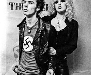 sid vicious, punk, and sid and nancy image